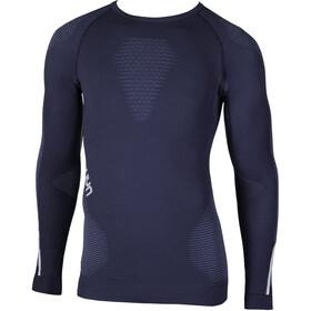 UYN M's Ambityon UW LS Shirt Deep Blue/Avio/White